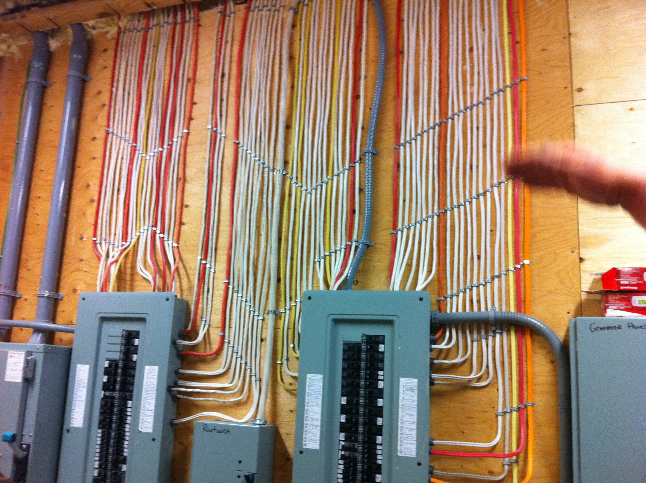 Wire electrical wiring wire free engine image for user for What is the standard electrical service for residential
